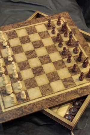 Handmade wooden games